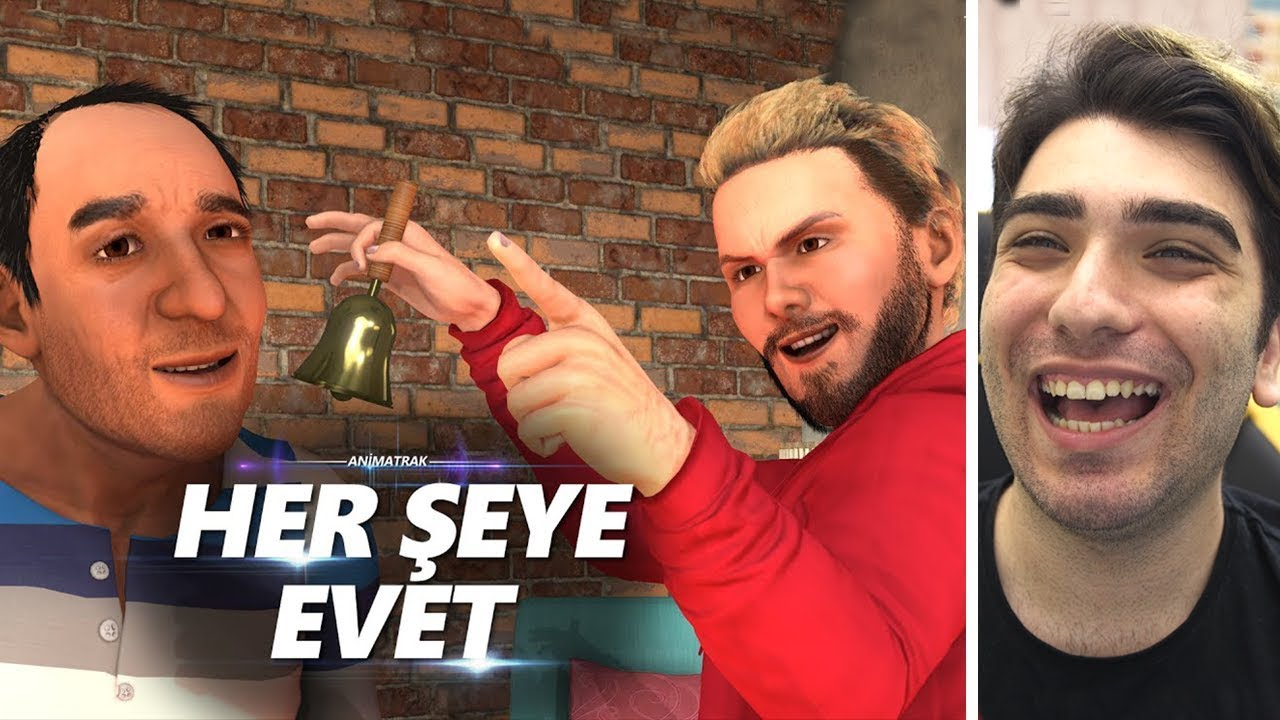 Enes Batur Ve Amcasi Animasyonu Animatrak Youtube