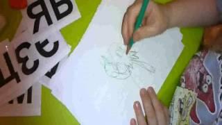Занятия с аутистами,ч.5, глобальное чтение, аутичный ребенок 6 лет, 2013г(Смотрите видео, применяйте, выполняйте задания и присоединяйтесь в группу https://vk.com/autism_bez_paniki Помогайте..., 2013-01-31T23:32:24.000Z)