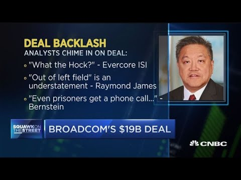 Broadcom agrees to buy CA Technologies for $18.9 billion in cash