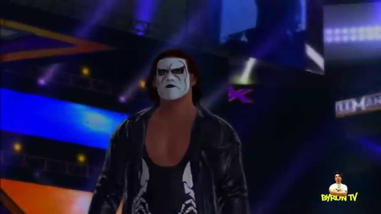 WWE 2K15 Stings entrance PS3 - YouTube