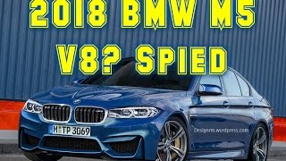 2018 bmw m5 f90 v8 spied car news