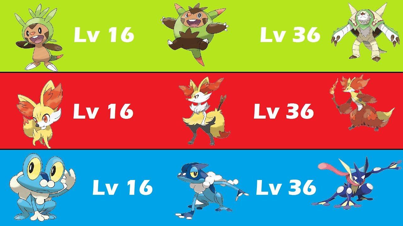 pokémon the evolutions les evolutions generation 6 youtube