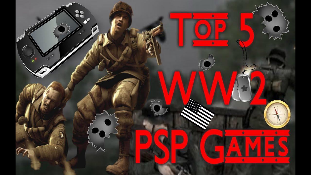 Top 5 World War 2 Psp Games Holmesov Cz Youtube