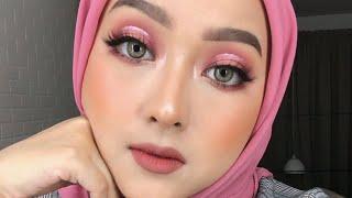 Dramatic Pink Halo Eye Makeup Tutorial | Naked Cherry
