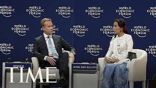 Aung San Suu Kyi Backs The Jailing Of Two Reuters Journalists | TIME thumbnail