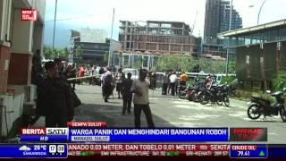 Bangunan Hotel di Manado Roboh akibat Gempa