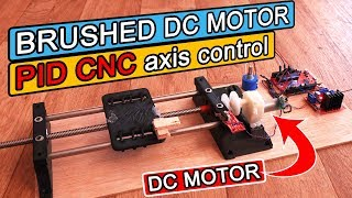 One axis PID encoded DC motor control