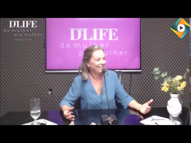 Felicidade é viver sem medo - No programa Dlife  Marli Zorzan entrevista Sirilei S Gambin