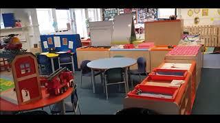 Reception - Poppy Class entering