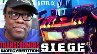 TRANSFORMERS War for Cybertron Trilogy SIEGE - Review  | Black Nerd