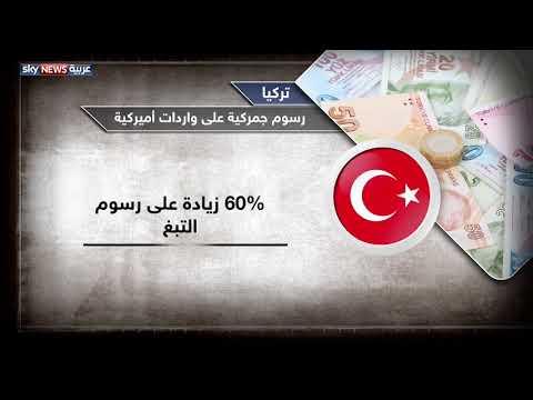 تركيا.. رسوم جمركية على واردات أميركية  - نشر قبل 12 ساعة