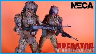 neca toys the predator 2018 ultimate emissary predator 2 action figure toy review
