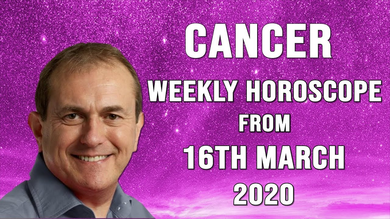 Weekly Horoscopes from 16th March 2020