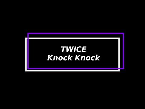 [HC] TWICE - Knock Knock