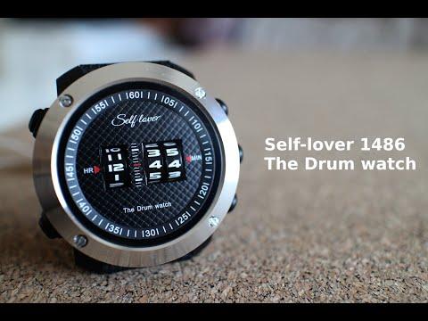 ДИЧЬ: Шуршащий дьявол или обзор барабанных часов (The Drum Watch) от бренда Self-Lover