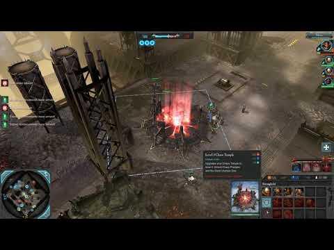 Dawn of War 2 Retribution Faction War 2v2 Alpha Legion Chaos Marines vs 122nd Cadian Imperial Guard  