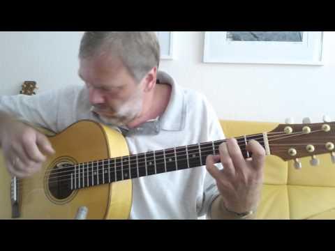 "Gerhard Gschossmann - ""As time goes by"" (Herman Hupfeld) guitar solo fingerstyle"