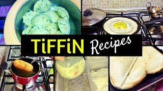 Kid's Tiffin Recipes/Rava idli/Chicken Sandwich/Appam & Vegetable stew/Chicken roll/Masala Dosa