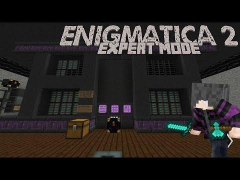 Enigmatica 2: Expert | Episode 64 | New Base Tour! : LightTube