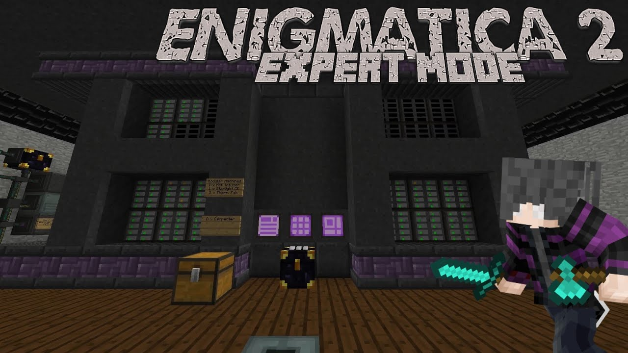 Enigmatica 2: Expert   Episode 64   New Base Tour! by Jestyr22