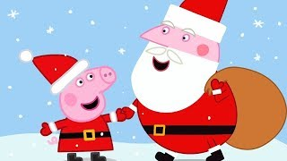 Peppa Pig Full Episodes  🎄 Santa's Visit 🎄 Cartoons for Children