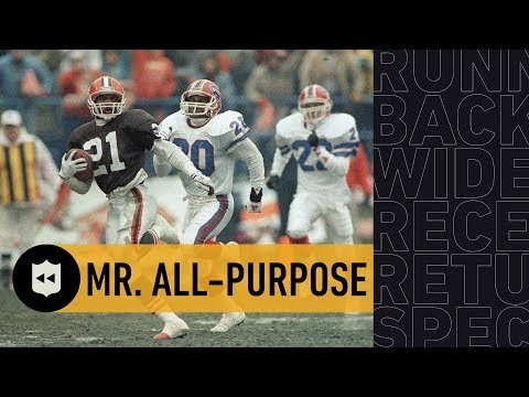 The Most Versatile Player in NFL History: Eric Metcalf | NFL Throwback