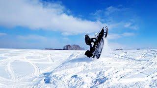 НА что способен  снегоход ТАЙГА ВАРЯГ 550 V Русская механика вектор 551, RM Vector 551i