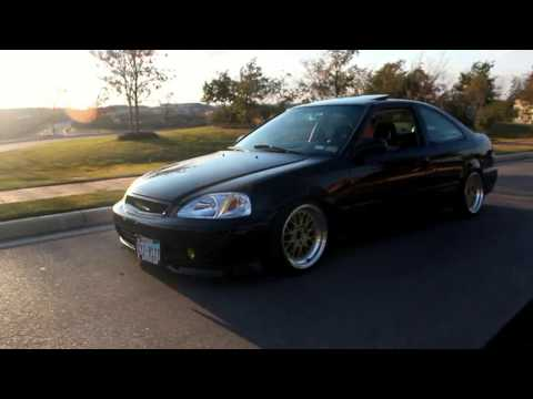 Clean 2000 Civic Si EM1 with GSR swap