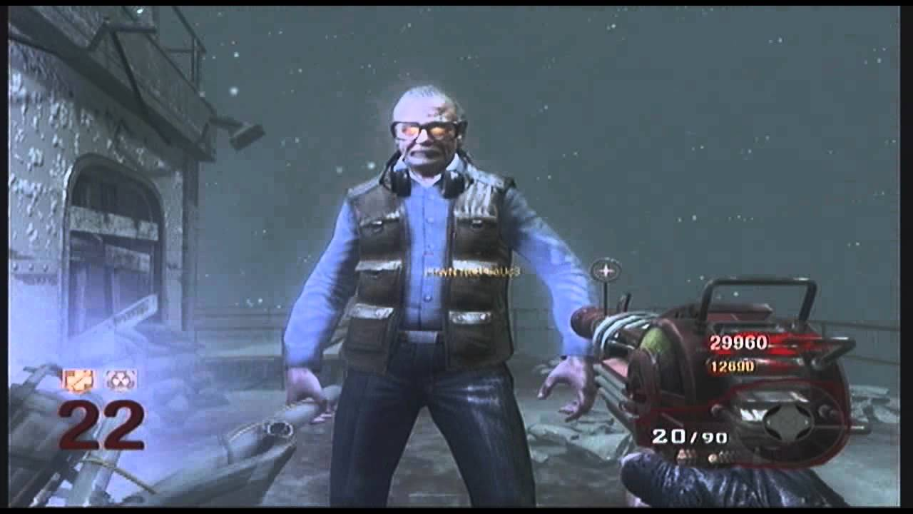 Call of The Dead How to freeze George Romero glitch - YouTube