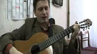 Уроки игры на гитаре песня город группы танцы минус