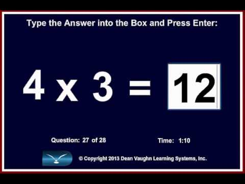 The Fastest And Easiest Method To Learn Multiplication Youtube