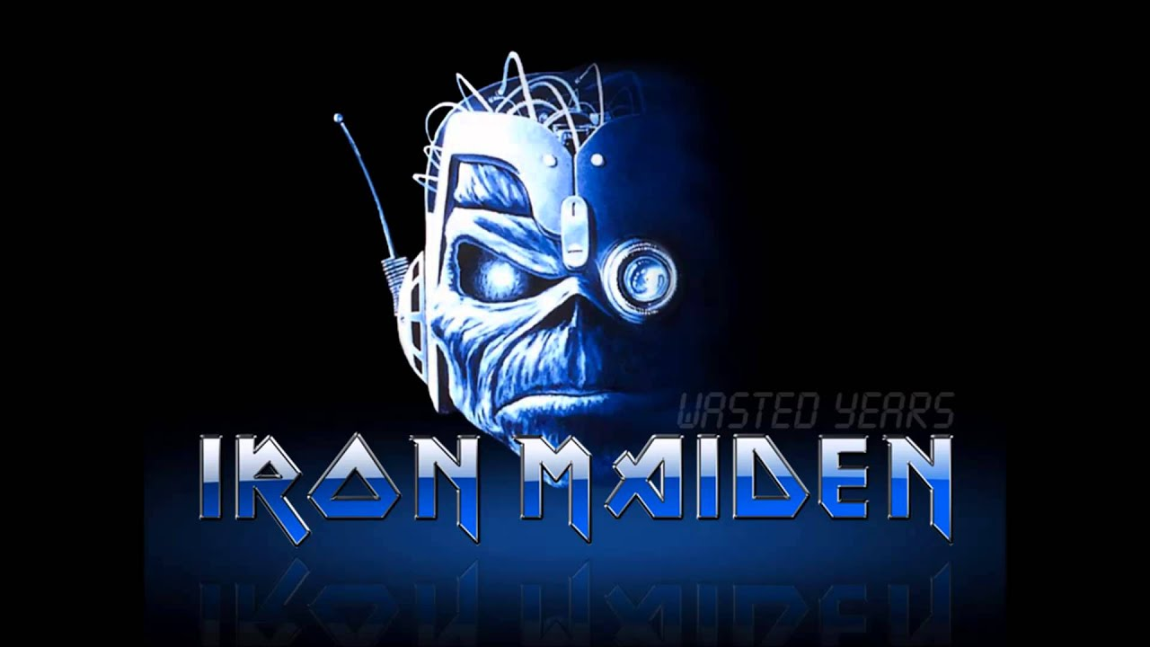 Iron Maiden Wasted Years Hq Youtube