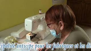 La Commune de Saint Magnance (89) se mobilise pour fabriquer des masques.
