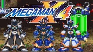 MegaMan X4: All Upgrades, Heart & Sub Tank Locations + Ultimate Armor X + Black Zero