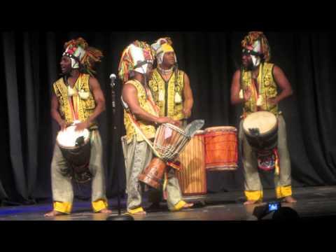 Liberia Culture Ambassador Drummers In Concert...Watch......