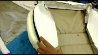 pemasangan sarung jok mobil paten