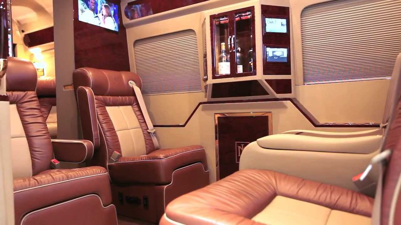 Beleza luxury sprinter conversion by lexani motorcars for Luxury mercedes benz sprinter
