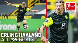 Erling Haaland - 36 Goals in Only 39 Matches