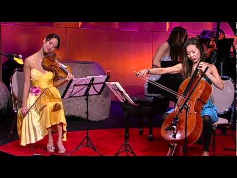 The Ahn Trio A Modern Take On Piano Violin Cello Youtube