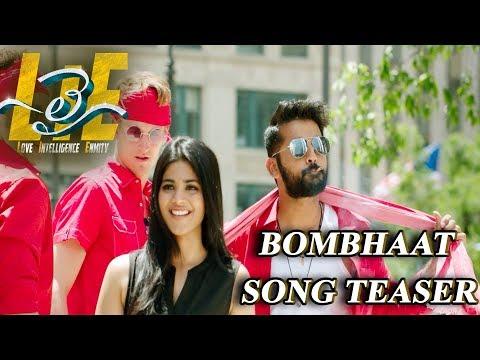 #LIE Movie Bombhaat Song Teaser - Nithiin, Arjun, Megha Akash | Hanu Raghavapudi