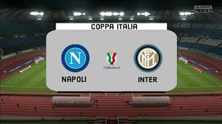 A simulation of the match coppa italia semi-finals, ssc napoli vs inter milan.#coppaitalia #inter #italiancoppaitalia #semifinals #intermilan #napoli ...