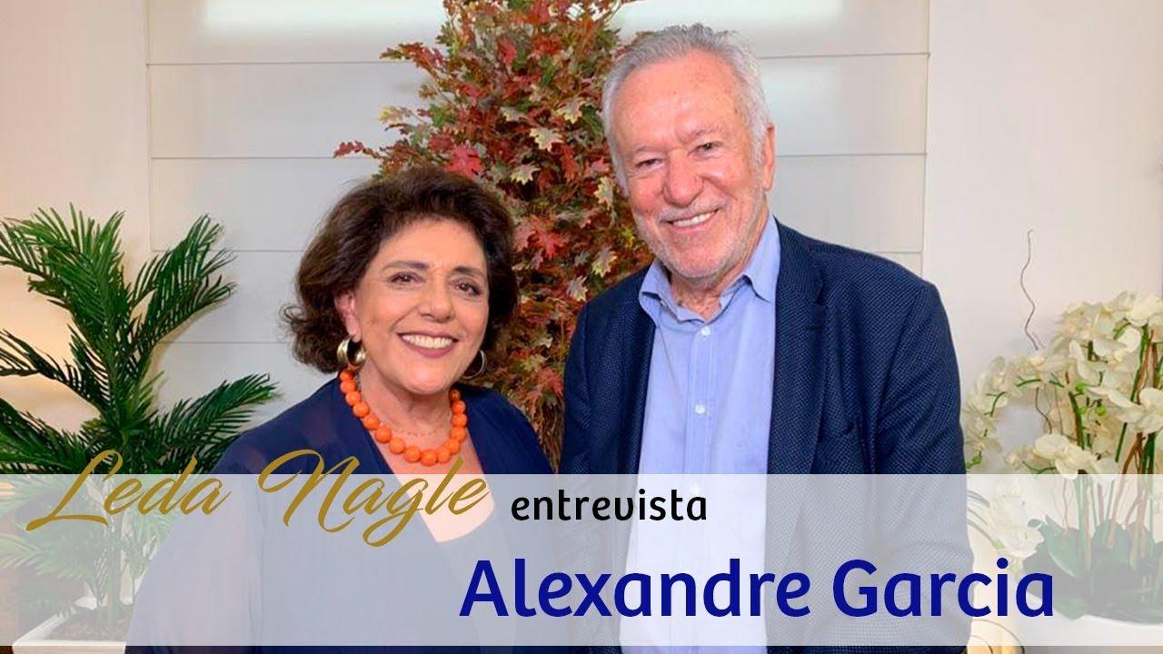 ALEXANDRE GARCIA : DA GLOBO PARA AS REDES SOCIAIS  LEDA NAGLE