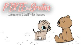 Lesson: Self-defense | Pixie and Brutus Comic Dub