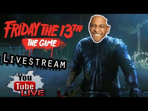 Friday 13th the game  feat: Adrian Lester   Join the lobby 