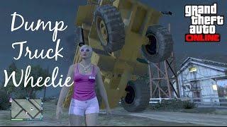 GTA Online- Dump Truck Wheelie