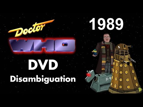 Doctor Who DVD Disambiguation - Season 26 (1989)