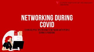 Networking During COVID