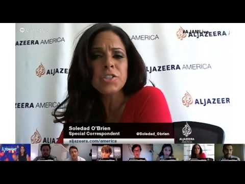 "Google+ Hangout On Air with Soledad O'Brien & ""America Tonight"""
