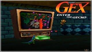 Gex 64: Enter The Gecko Nintendo 64 Gameplay Walkthrough Part 2 - Scream Tv!