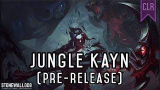 League of Legends - Jungle Kayn (pre-release)